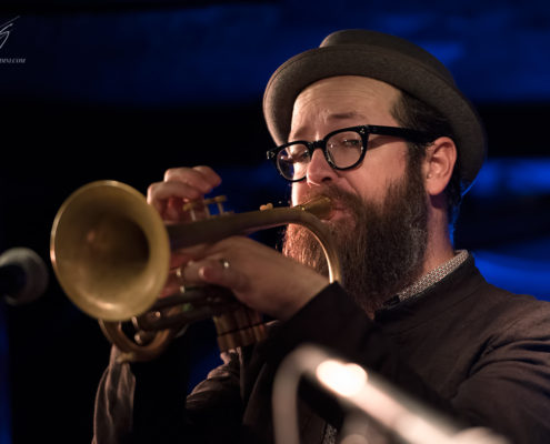 Kirk Knuffke live at Pizza express Jazz London