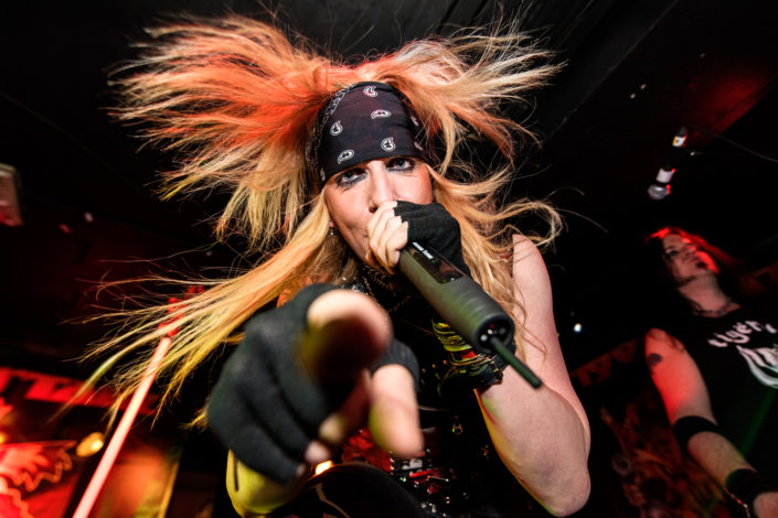 Tigertailz - Live at the Underworld Camden
