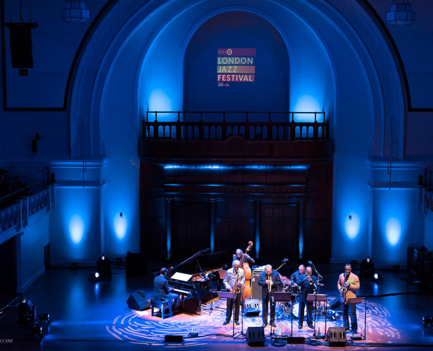 The Cookers at Cadogan Hall London Jazz Festival